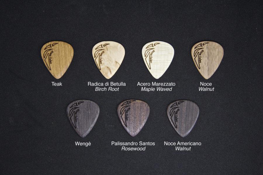 Plettri Picks dettagli 2 Alma Cajon